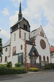 Fellingshausen, Church, Evangelical Church, Religion