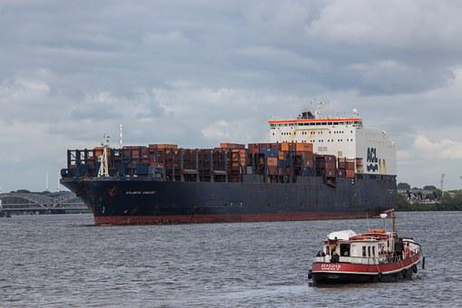 Container Ship, Port, Freighter, Ship, Transport, Water
