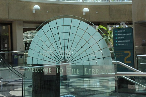 San Diego State University, Library, Glass Dome Symbol