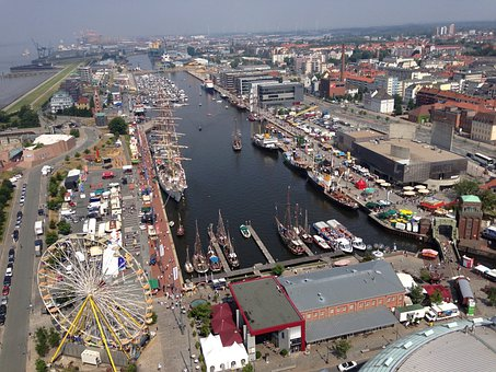 Harbour Festival, Bremerhaven, Port, Weser, Water