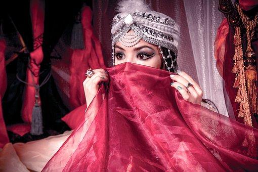 Harem, Eastern Girl, Barn, Princess, East, Story, Dress