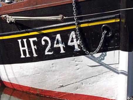 Ship, Old, Wood, Hawse, Bremerhaven, Port