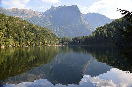 Piburger Lake, Oetz, Piburg, Tyrol, Water, Lake