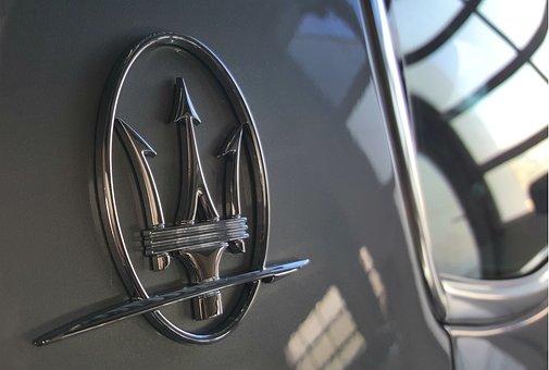 Maserati, Logo, Maserati Logo, Maserati Emblem