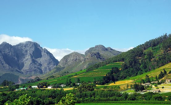 South Africa, Franshoeck, Huguenot, Protestant Cap