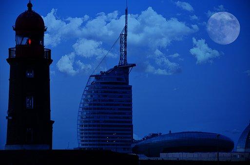 Lighthouse, Architecture, Tourism, Sail City Hotel