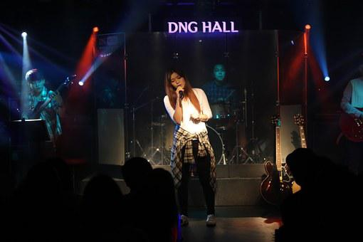 Performance, Show, Singer, Stage, Sing, Woman, Girl