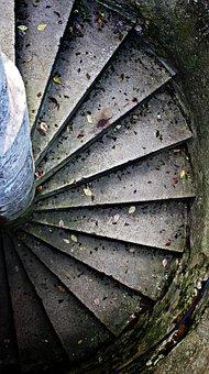 Spiral Staircase, Staircase Finish, Spiral, Gradually