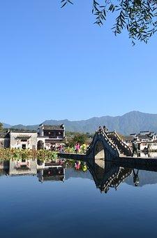Anhui, Hongcun Village, The Scenery