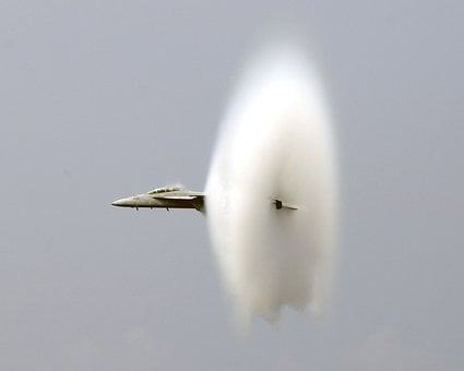 Breaking The Sound Barrier, Jet, Fighter, Us Navy