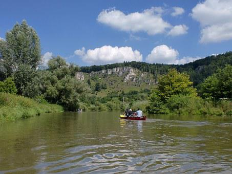 Altmühl, Boat Trip, Canoeing, River