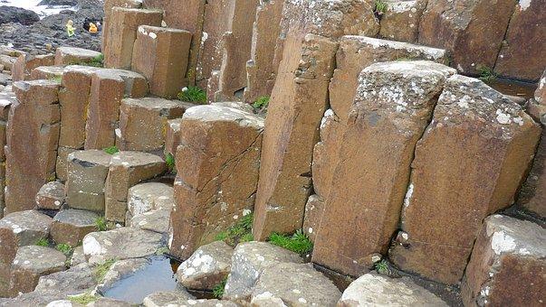Basalt, Causeway, Columns, Northern, Ireland, Antrim
