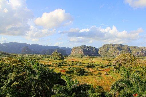 Cuba, Landscape, Viñales Valley, Nature, Green