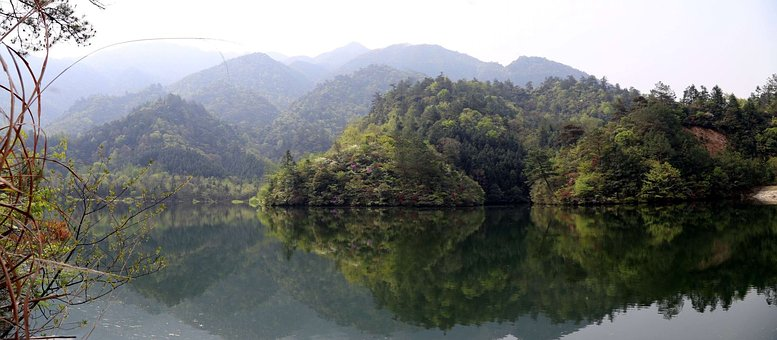 Anhui, Dabie Mountains, The Scenery
