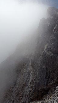 Watzmann, East Wall, Steep Wall, Rock