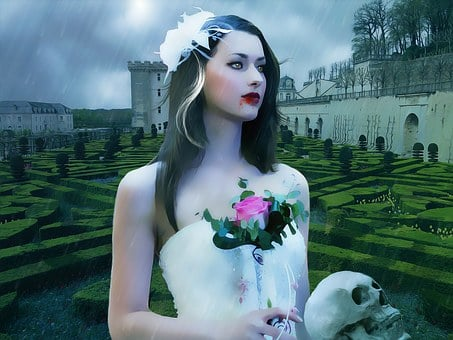 Gothic, Fantasy, Dark, Vampire, Vamp, Female