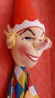 Kasper, Punch And Judy, Toys, Doll, Hand Puppet