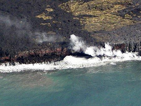 Volcano, Hawaii, Lava, Phenomena, Scenery, Hot