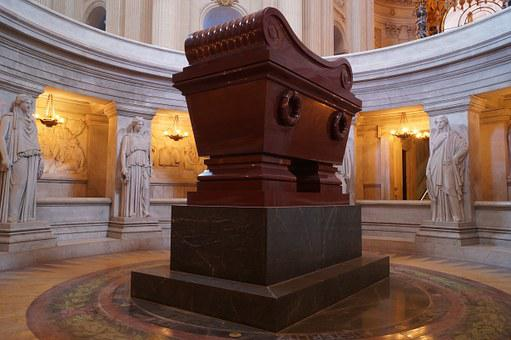 Napoleon, Sarcophagus, Tomb, Invalides, Paris, Monument
