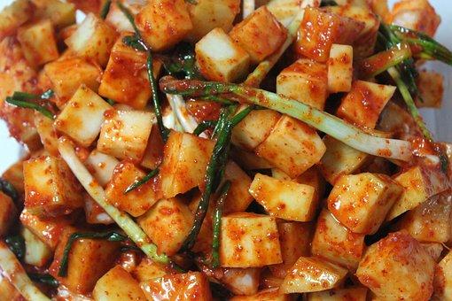 Kimchi, Kkakdugi, Korean Food