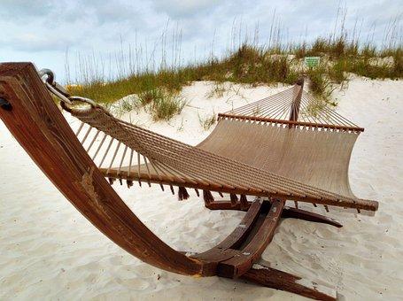 Beach, Chair, Hammock, Lounge, Vacation, Florida, Relax