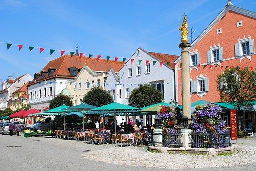 Kelheim, Niederbayern, Middle Ages, Medieval Place