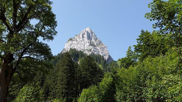 Geiselstein, Oberammergau Alpine, Ceedings, Mountains