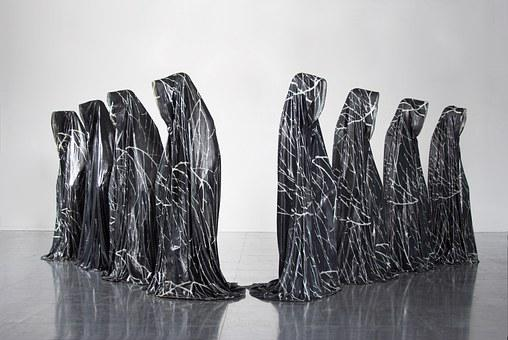 Guardians Of Time, Phenomena, Statue, Contemporary Arts