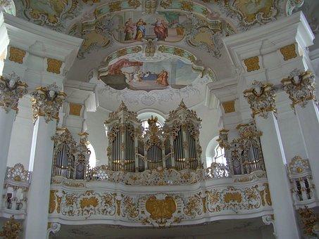 Pilgrimage Church Of Wies, Pilgrimage Church, Bavaria