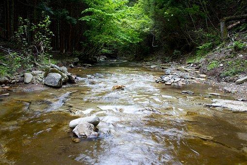 Natural, River, Mountain, Comfort, Water, Upstream