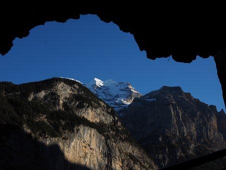 Lauterbrunnen, Steep, Steep Wall, Rock Wall, Mountains