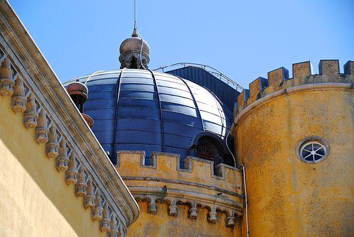 Portugal, Sintra, Castle, Fortress, Vacations, Holidays
