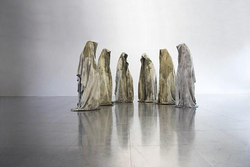 Guardians Of Time, Phenomena, Statue, Contemporary Arts