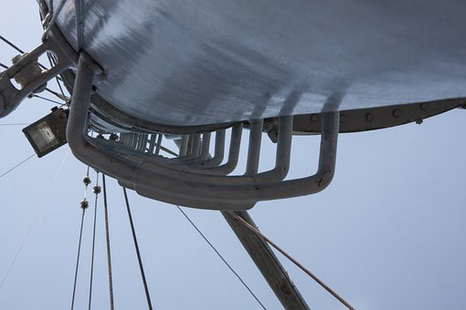 Mast, Steel, Rise, Lookout, Keep An Eye Out, Ship Deck