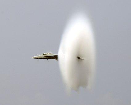 Breaking The Sound Barrier, Jet, Fighter, Us Navy
