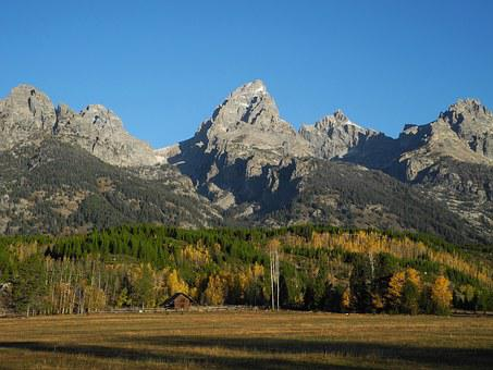 Grand Teton, Wyoming, Grand, Teton, Park, Peaks