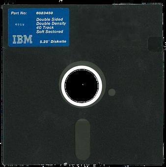 Computer Floppy Disk, 5, 25 Ibm Diskette