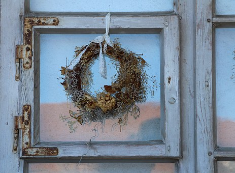 Old Window, Antique, Weathered, Run Down, Old House