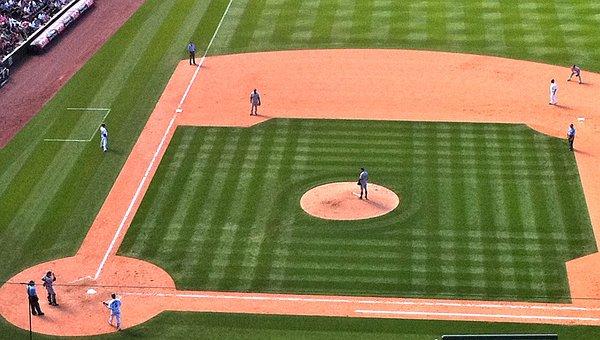 Baseball, Field, Sports, Ball, Game, Team, Grass, Play