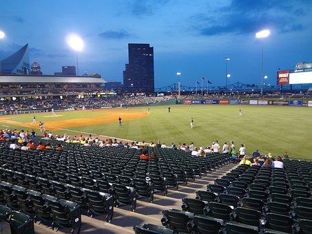 Baseball, Stadium, Field, Baseball Background, Sport