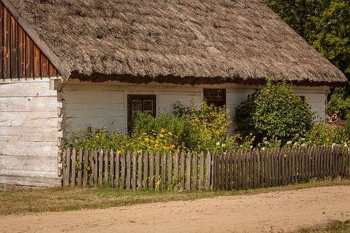 Village, Tourism, Old House, Cottage, Poland