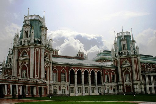 Palace, Building, Gothic, Eclectic, Architecture