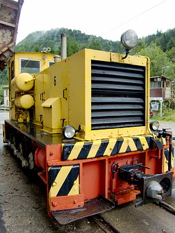 Loco, Locomotive, Railway, Historically, Train