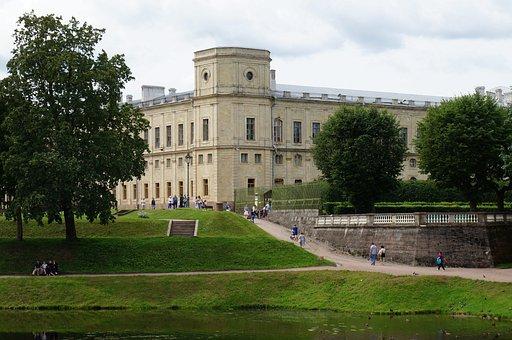 Great Gatchina Palace, Landscape, Gatchina, Nature