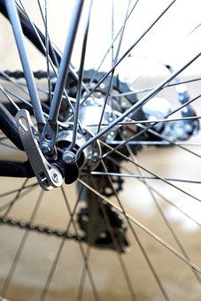 Bike, Velo, Wheel, Rear Wheel, Axis, Fixing