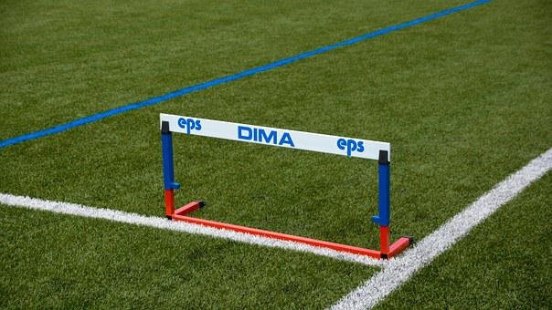 Hurdle, Obstacle, Sport, Track And Field, Jump, Run