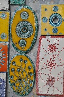 Tile, Colorful, Tiles, Color, Structure, Craft, Art