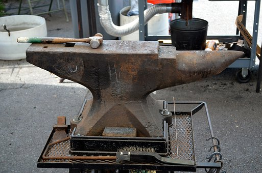 Anvil, Steel, Metal, Tool, Forge, Blacksmith, Smith