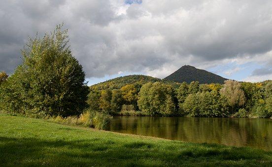 Autumn, Pond, Tree, Landscape, Edge Of The Pond, Nature