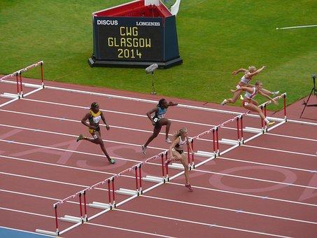 Hurdles, Runner, Sport, Achievement, Jump, Glasgow